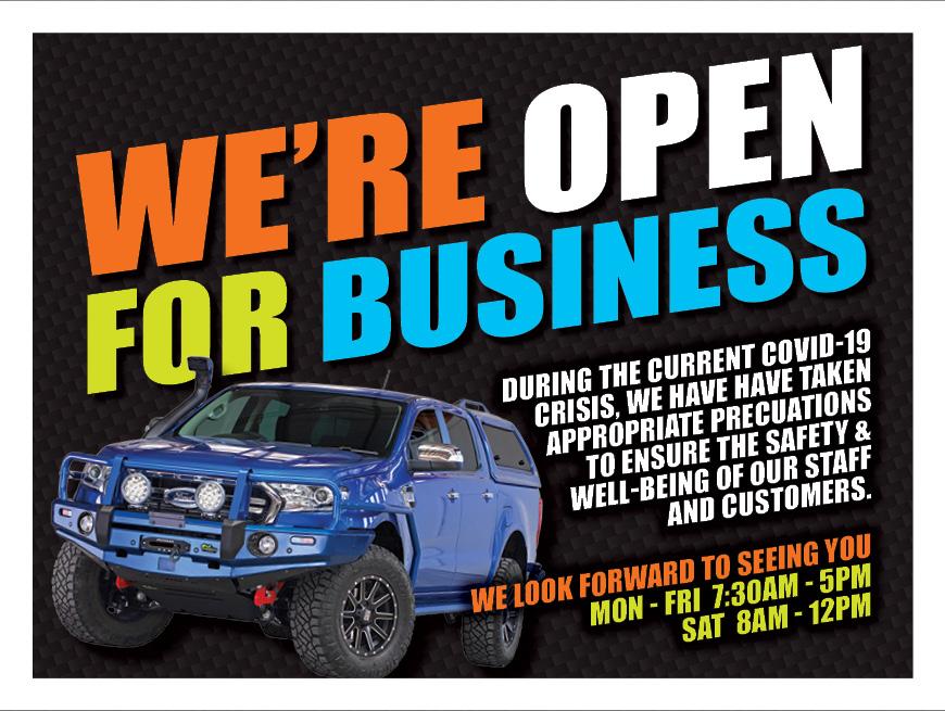 J0100 Truracks Open for Business pop up